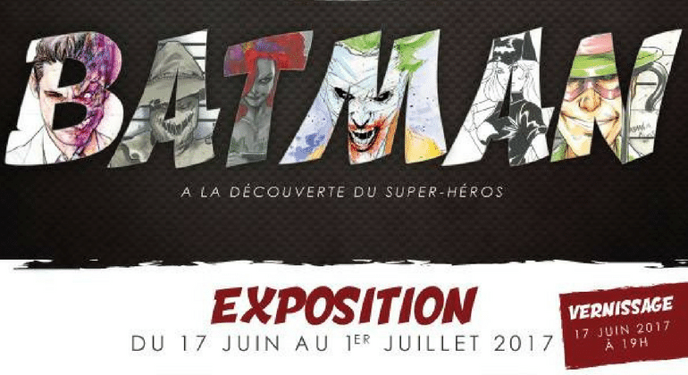 EXPOSITION : Batman à la découvert du Super-Héros, aux Baux De Provence