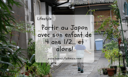 Partir au Japon avec son enfant de 4 ans 1/2… Et alors!