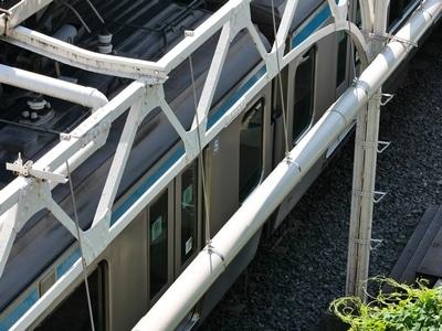 Notre moyen de transport principale sur place : le train.