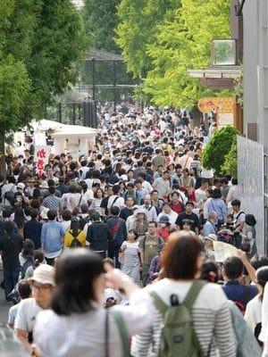 Foule au Zoo d'Ueno - C'était la journée gratuite pour tous! On l'a découvert sur place...