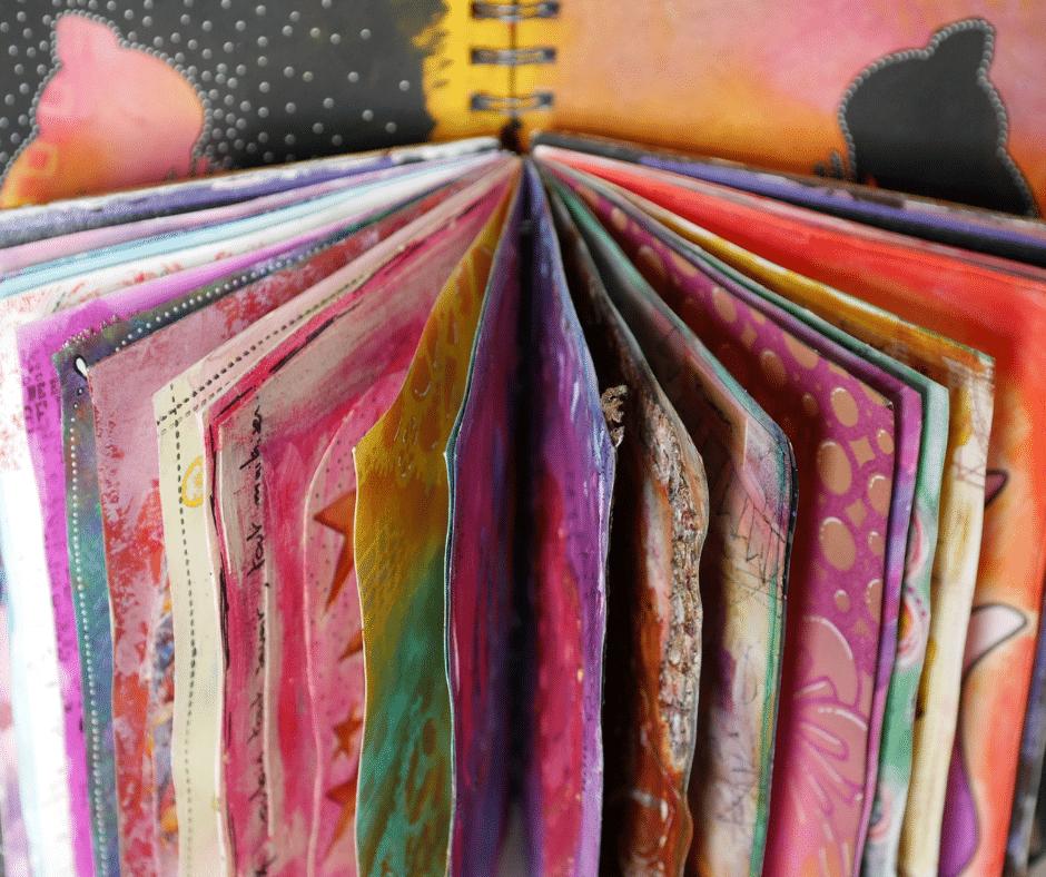 Art journal : mon outil de développement personnel !