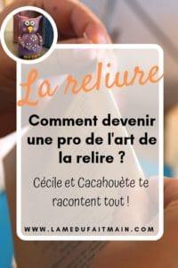 Atelier 2C - l'art de la reliure - interview de Cécile, tout ce qu'il y a à savoir