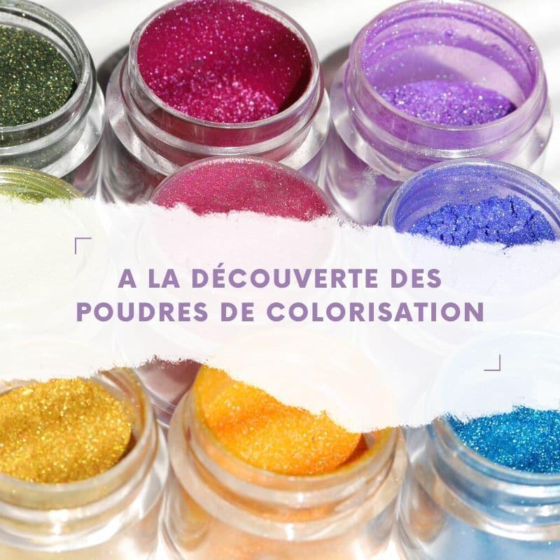 À la découverte des poudres de colorisation