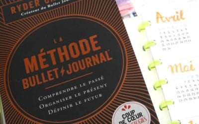 La philosophie du bullet journal