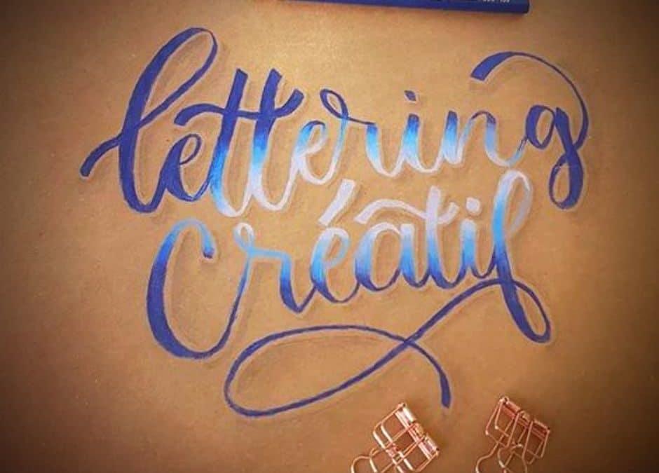 Lettering, l'art de dessiner les lettres avec Y-Lan