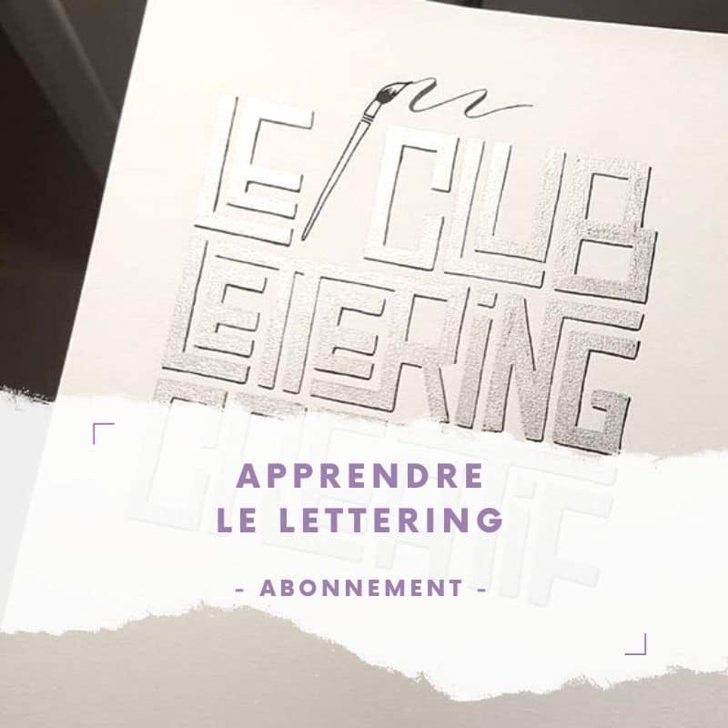 Le club de lettering créatif